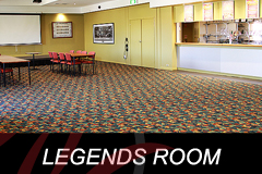 The Legends Room at The Bentleigh Club for a cocktail party, conferences, presentations or corporate functions.