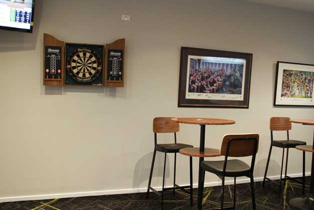 The Bentleigh Club Darts Bar - play darts with friends after work